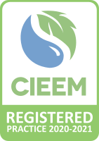 CIEEM Registered Practice logo 2020 2021